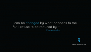 changed by what happens not reduced