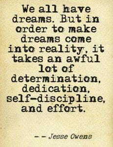 making dreams a reality