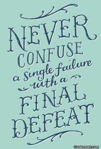 single failure final defeat
