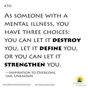destroy, define, or strengthen
