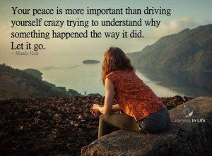 peace over understanding
