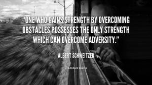 adversity strength quote