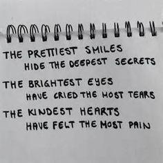 pretty smiles hide deep secrets quote