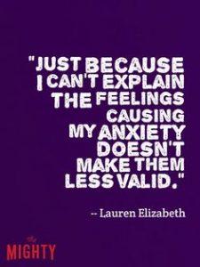 feelings not less valid