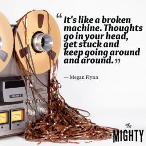 broken machine OCD thoughts quote