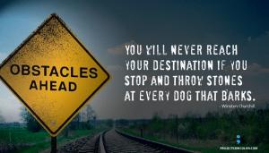 throwing stones reach your destination