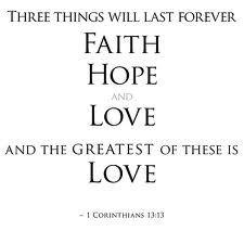 faith hope love forever