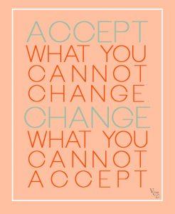 accept vs change
