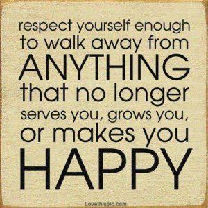 respect yourself enough to walk away robert tew
