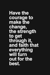courage strength faith serenity prayer